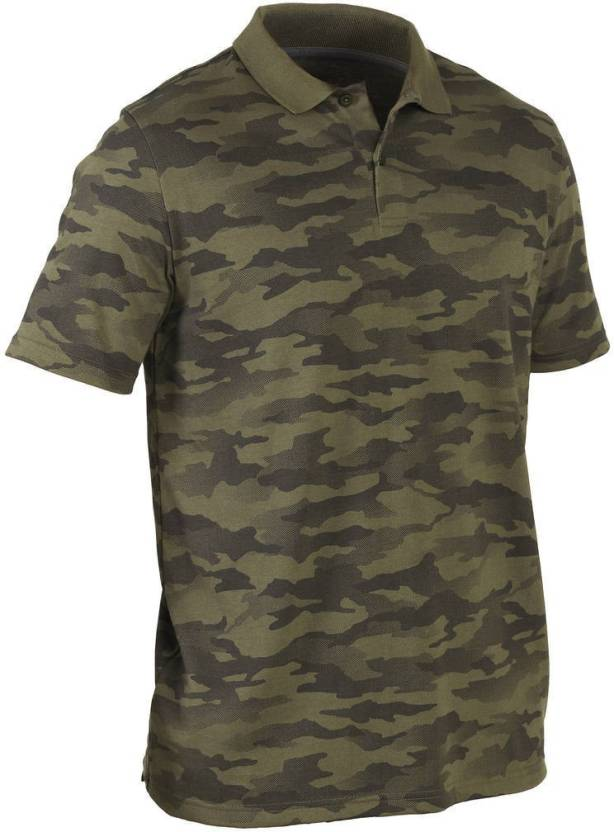 9daa235dac Decathlon - SOLOGNAC Military Camouflage Men & Women Polo Neck Green  T-Shirt - Buy Decathlon - SOLOGNAC Military Camouflage Men & Women Polo  Neck Green ...