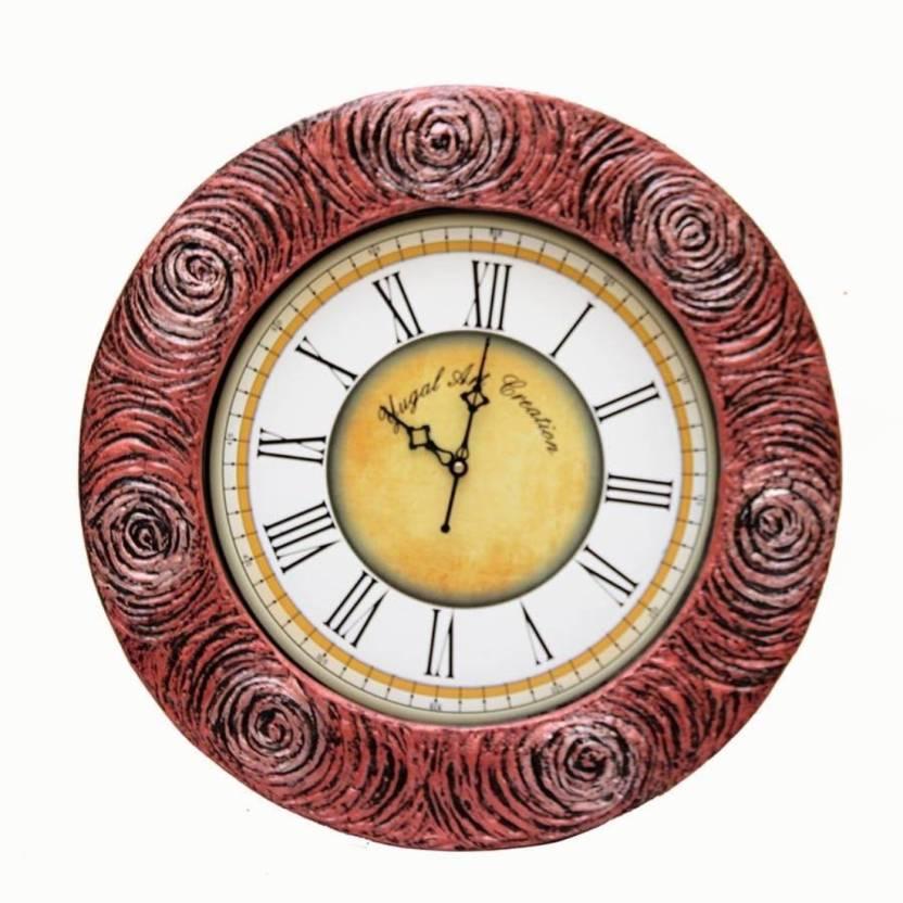 Art Make In India Analog Wall Clock Price In India Buy Art Make In