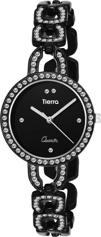 Tierra Ntgr005black Desire Series Watch For Women