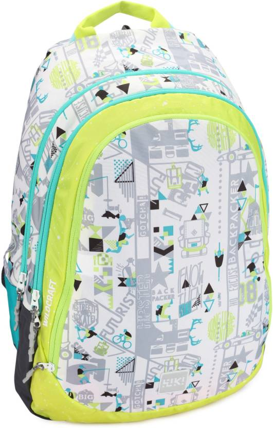 4f6aa39ef5289 Wildcraft Wiki 6 Jock 40 L Backpack White - Price in India ...