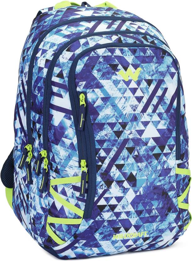 Wildcraft WC 5 Geo Camo 42 L Backpack Blue - Price in India ... 9887fb6eebf4d