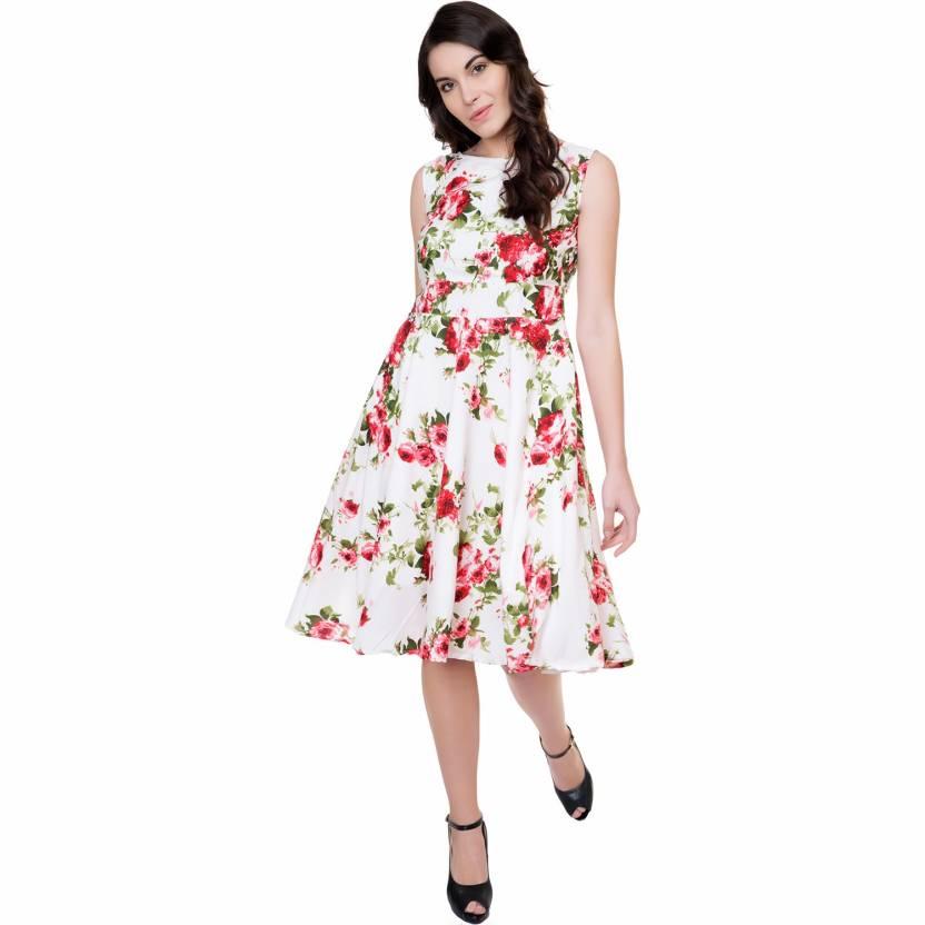 0d415528c1ca Tashi Girls Midi Knee Length Party Dress Price in India - Buy Tashi ...