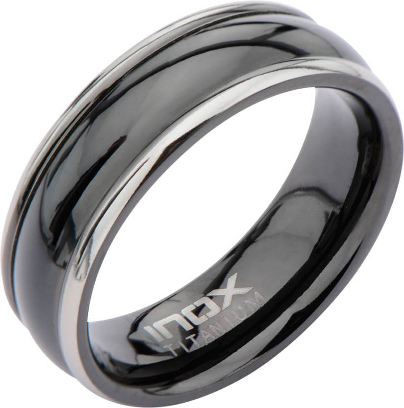 Inox Jewelry Border Glossy Band Stainless Steel, Alloy