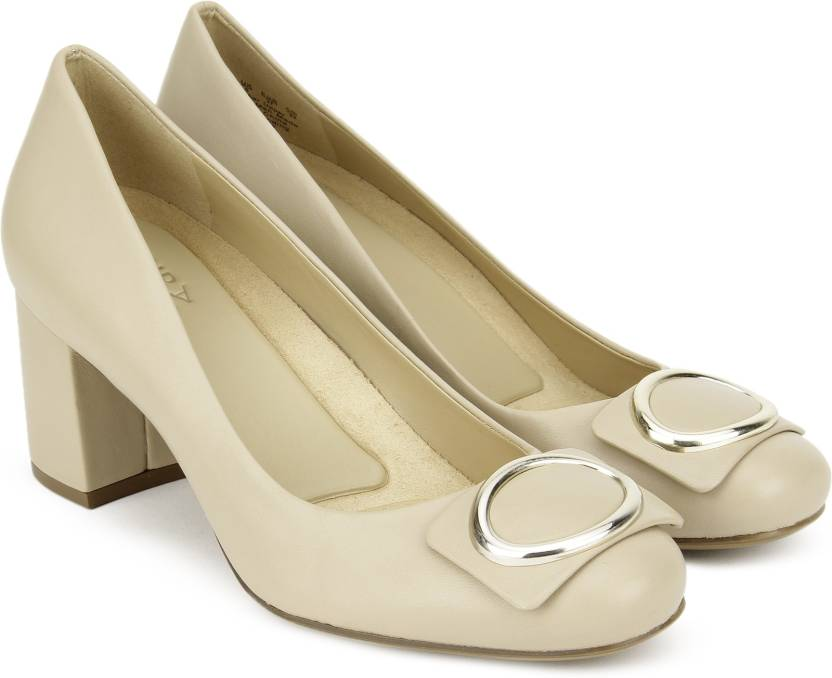 86247b4bd171 NATURALIZER Women Taupe Heels - Buy Beige Color NATURALIZER Women Taupe  Heels Online at Best Price - Shop Online for Footwears in India