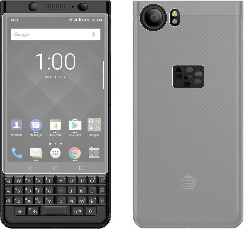on sale 81c69 df39f Case Creation Front and Back Screen Guard for BlackBerry KEYone
