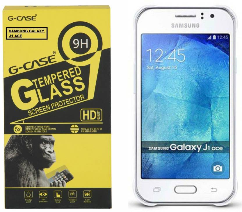 G Case Tempered Glass Guard For SAMSUNG Galaxy J1 Ace