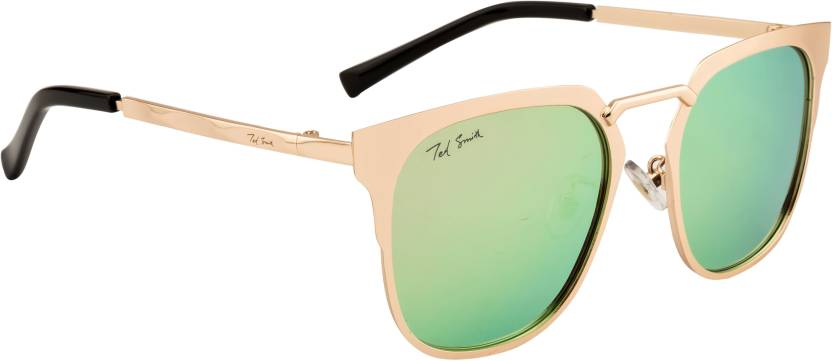 e5339ba7f4a Buy Ted Smith Wayfarer Sunglasses Green