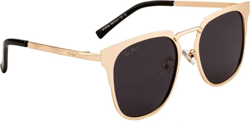 2a4e027c75b Buy Ted Smith Wayfarer Sunglasses Grey For Men   Women Online   Best ...