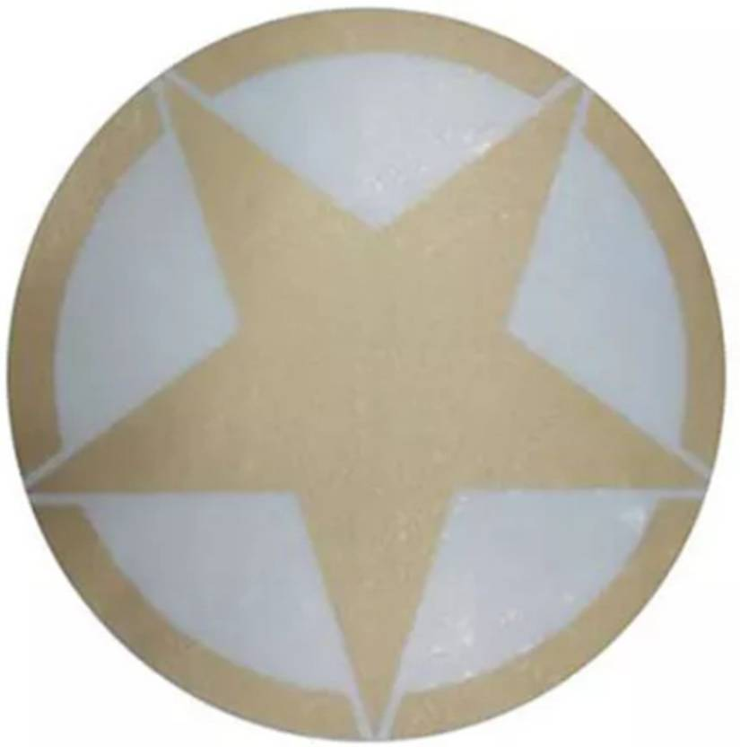 SPEEDYRIDERS Star Golden Color Sticker For All Bikes Bike Tank Pad ...