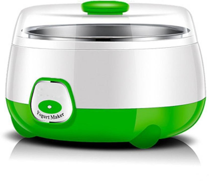 Green and White Family /® Yogurt 1 Single Container 1L