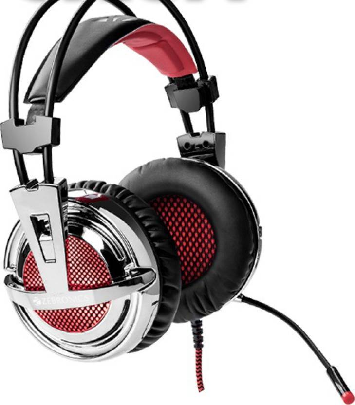 2eaa1f962be Zebronics Orion Wired Headset with Mic Price in India - Buy ...