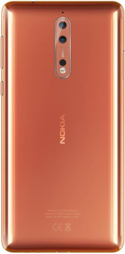 Nokia 8 (Polished Copper, 64 GB)(4 GB RAM)