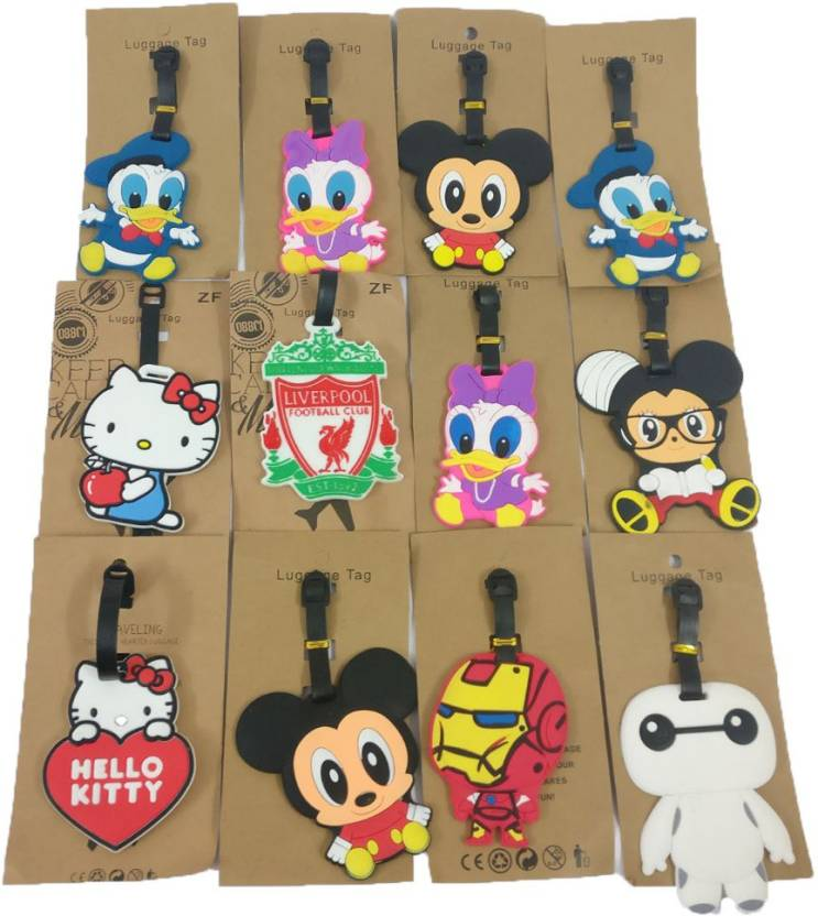 Shopkooky Cute And Attractive Random Cartoon Luggage Tags Return Gift Birthday Gifts Online For