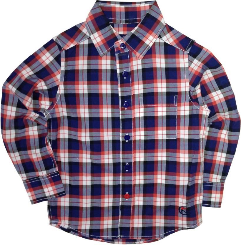 0549f945a0d 6 1 Source · KiddoPanti Baby Boys Checkered Casual Dark Blue Shirt Buy
