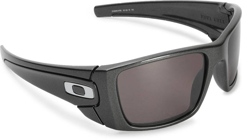 97c7d0c46e3c Buy Oakley FUEL CELL Rectangular Sunglass Silver For Men Online ...