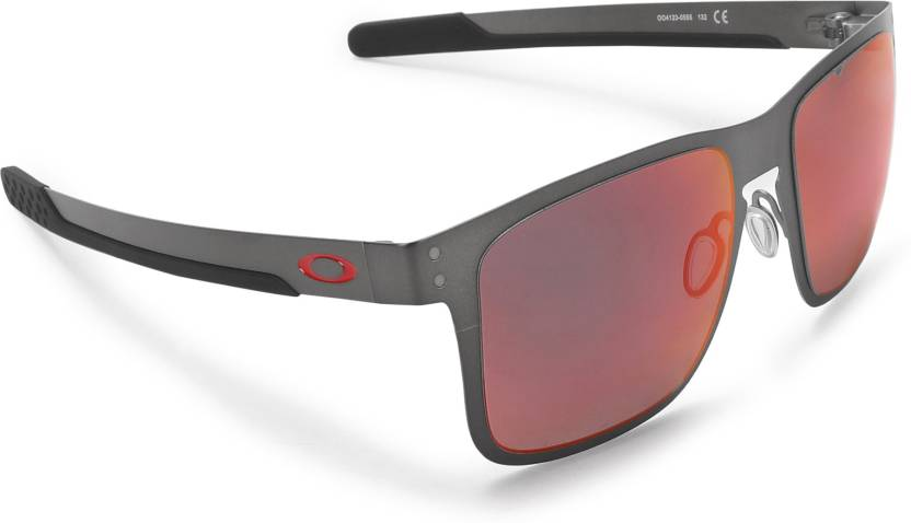 43d0625e47 Buy Oakley HOLBROOK METAL Sports Sunglass Red For Men Online   Best ...