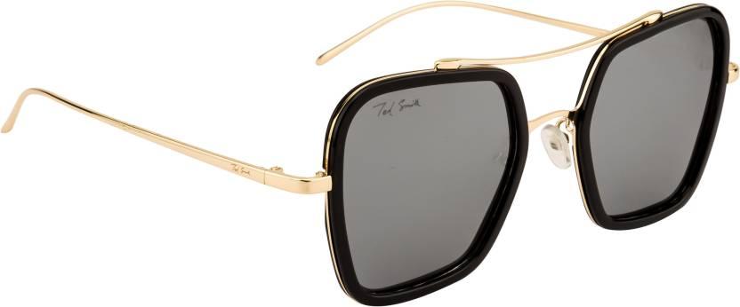 71f597513d0 Buy Ted Smith Aviator Sunglasses Grey For Men   Women Online   Best ...