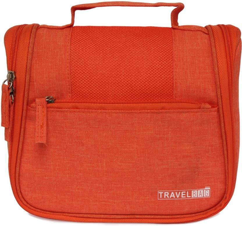 7a4cf721358f Swiss Mountaineer Orange Toiletory Travel Toiletry Kit Orange ...