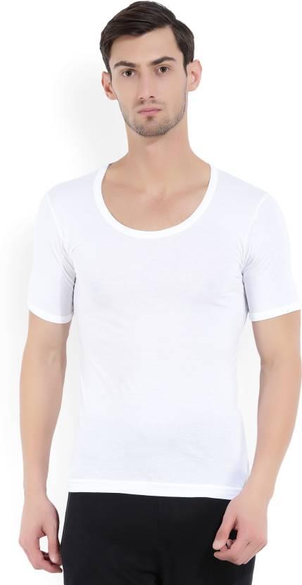 a49a387546c38c Macroman M-Series Men's Vest - Buy WHITE Macroman M-Series Men's ...