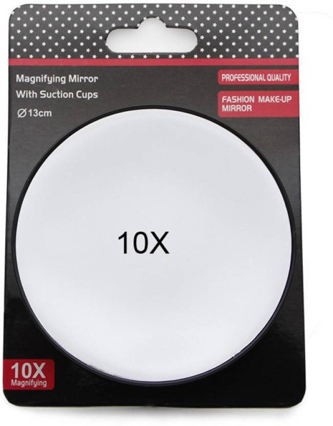 Store2508 Magnifying Mirror With 10x Magnification Suction Cups