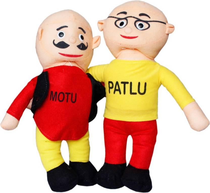 Toys Factory Motu patlu teddy - 6 cm - Motu patlu teddy