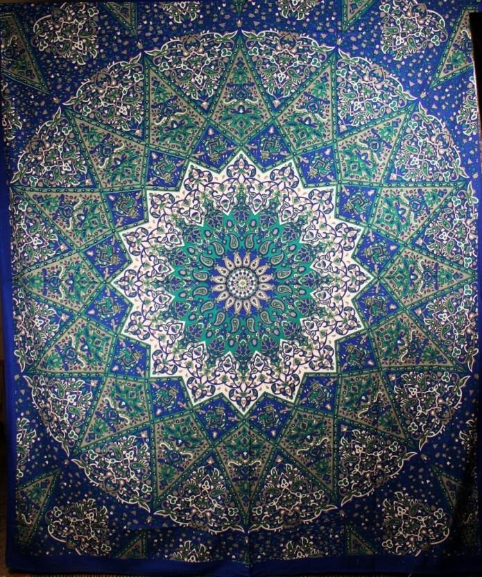 Handicrunch Indian Mandala wall hangings tapestry boho