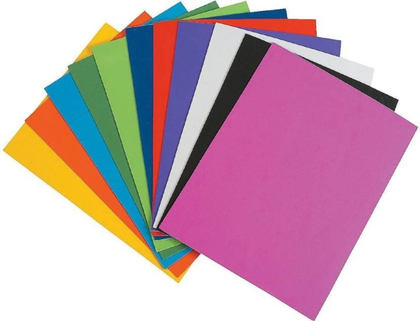 VARIOUS COLOURS AND SIZES AVAILABLE 2MM THICK SELF ADHESIVE CRAFT FELT