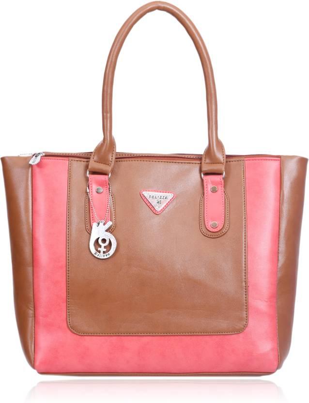 Buy Belizza Hand-held Bag Pink 57b23d4c98af7