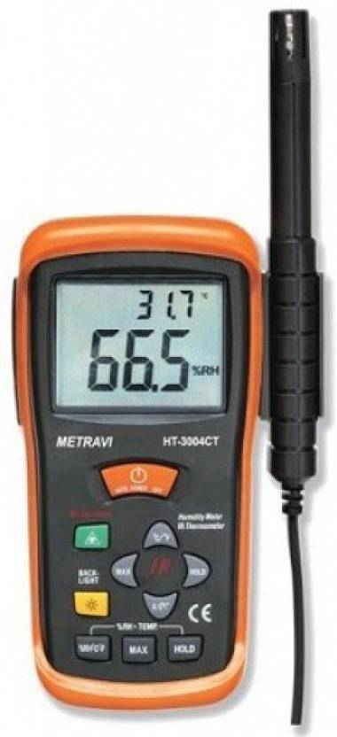 METRAVI HT-3004CT Temperature and Humidity Meter Hydrometer Price in