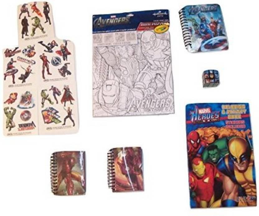 Meggan s Warehouse Marvel Avengers Activity Gift Et ...