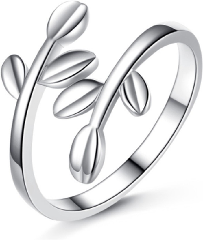 Karatcart Copper Platinum Plated Ring Set Price In India