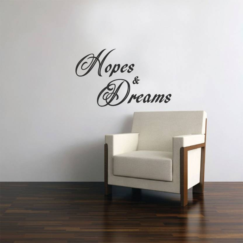 Fantaboy Hopes Dreams Quote Printed Wall Decal Sticker Price In