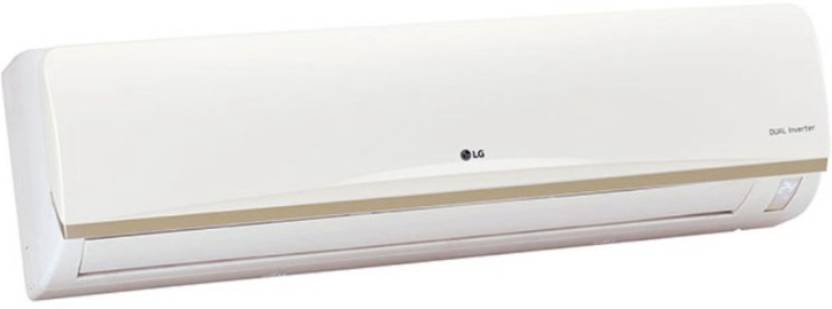 LG 1 Ton 3 Star BEE Rating 2018 Inverter AC - White  (JS-Q12AUXA1, Copper Condenser)