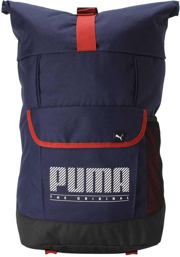 5df5e20b05c8 Puma Sole Backpack Plus 21 L Backpack Peacoat - Price in India ...