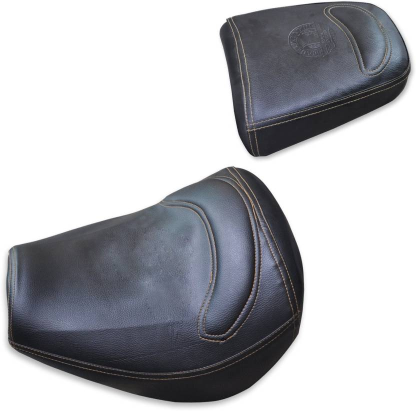 Swell Asco 95056 Royal Enfield Tunderbird Pu Finish Seat Cover With Extra Cushion Bucket Fitting Coffee Brown Single Bike Seat Cover For Royal Enfield Evergreenethics Interior Chair Design Evergreenethicsorg