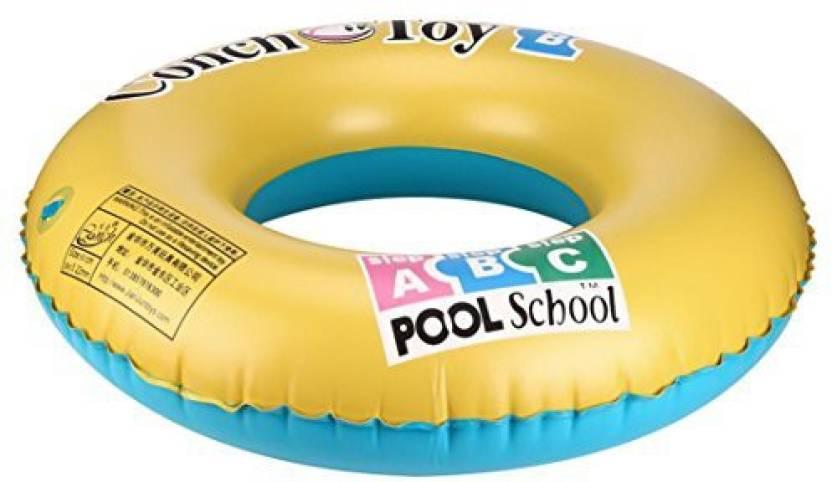 Leegor Premium Pvc Float Swimming Tube Ring Inflatable Dual Layer
