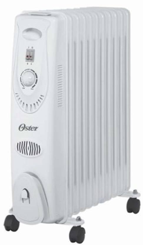 8e16684117a Oster OOH2004-2000 Watt Oil Filled Room Heater Price in India - Buy Oster  OOH2004-2000 Watt Oil Filled Room Heater online at Flipkart.com