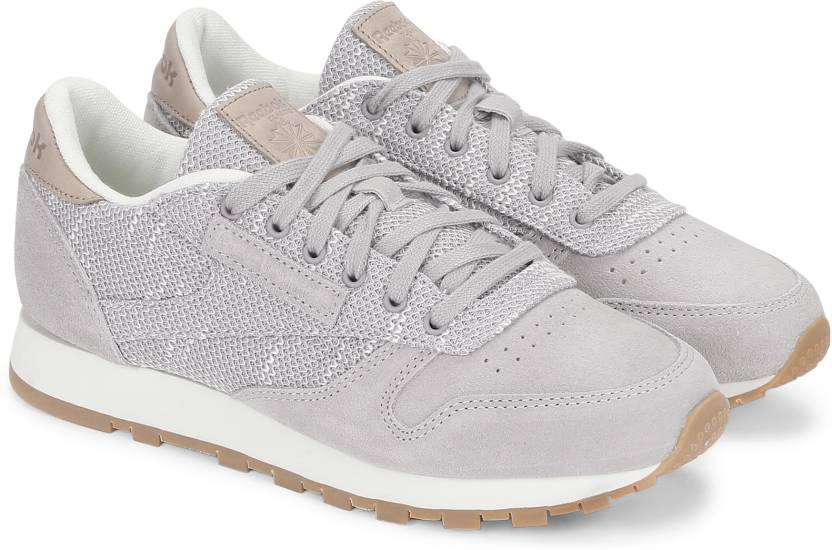 6ad12566236e80 REEBOK CL LEATHER EBK Sneakers For Women - Buy GREY CHALK LILAC ASH ...