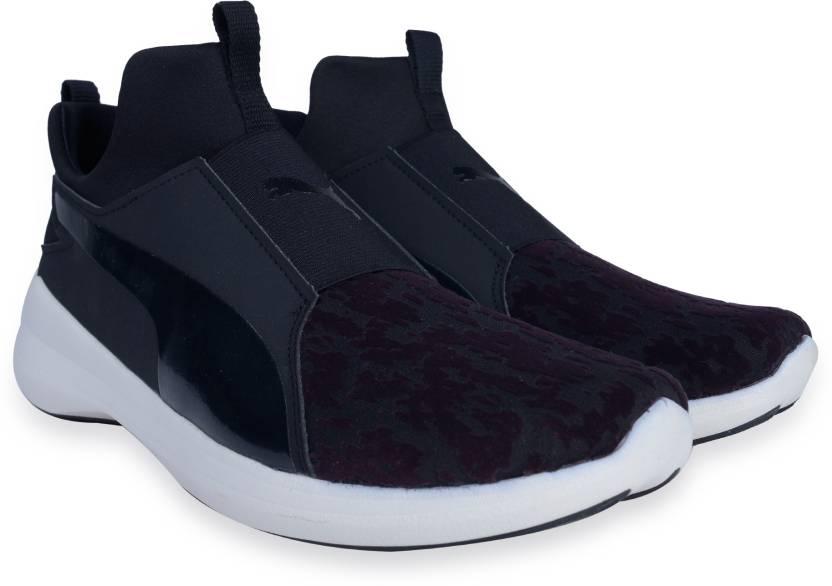 d71a83f59121a6 Puma Puma Rebel Mid Wns VR Sneakers For Women - Buy Puma Black-Puma ...