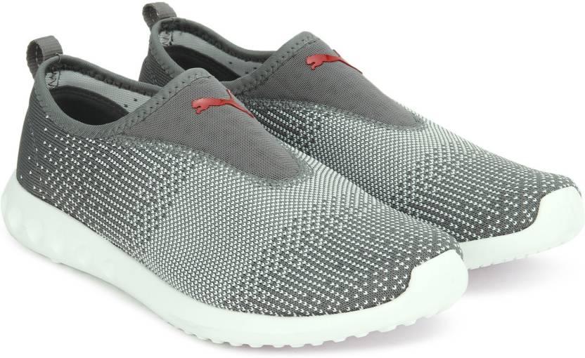 b008c2aae8f3ee Puma Carson 2 Slip-On Running   Training Shoes For Women - Buy Grey ...