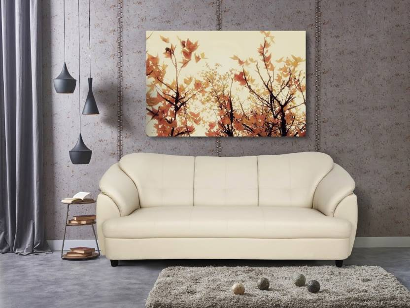 Urban Living Plymouth Leatherette 3 Seater Sofa Price In India Buy