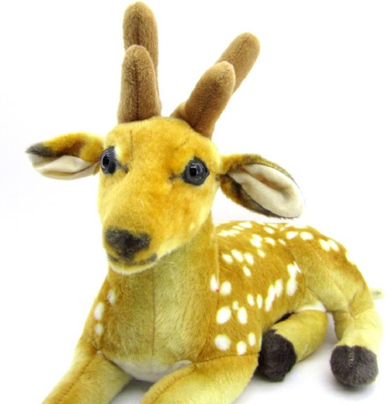 811fa8eee8ba Gift Decor Shop Deer Stuffed Soft Plush Soft Toy 35 cm - 25 cm (Brown)