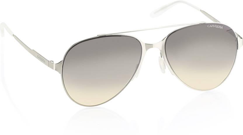 64d934a766516 Buy Carrera Aviator Sunglasses Grey For Men   Women Online   Best ...