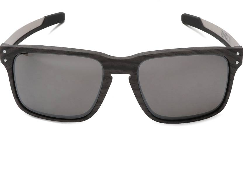 b1c446aeb0e3b Buy Oakley HOLBROOK MIX Rectangular Sunglass Grey For Men Online ...