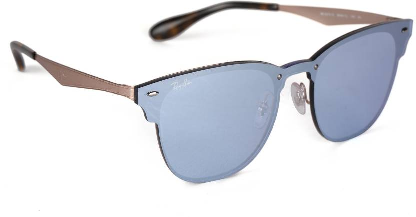 f1ae0d63843 Buy Ray-Ban Retro Square Sunglasses Silver For Men   Women Online ...