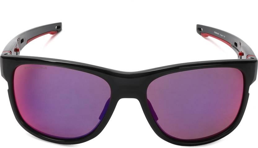 e7caad8f855 Buy Oakley CROSSRANGE R Sports Sunglass Red For Men Online   Best ...