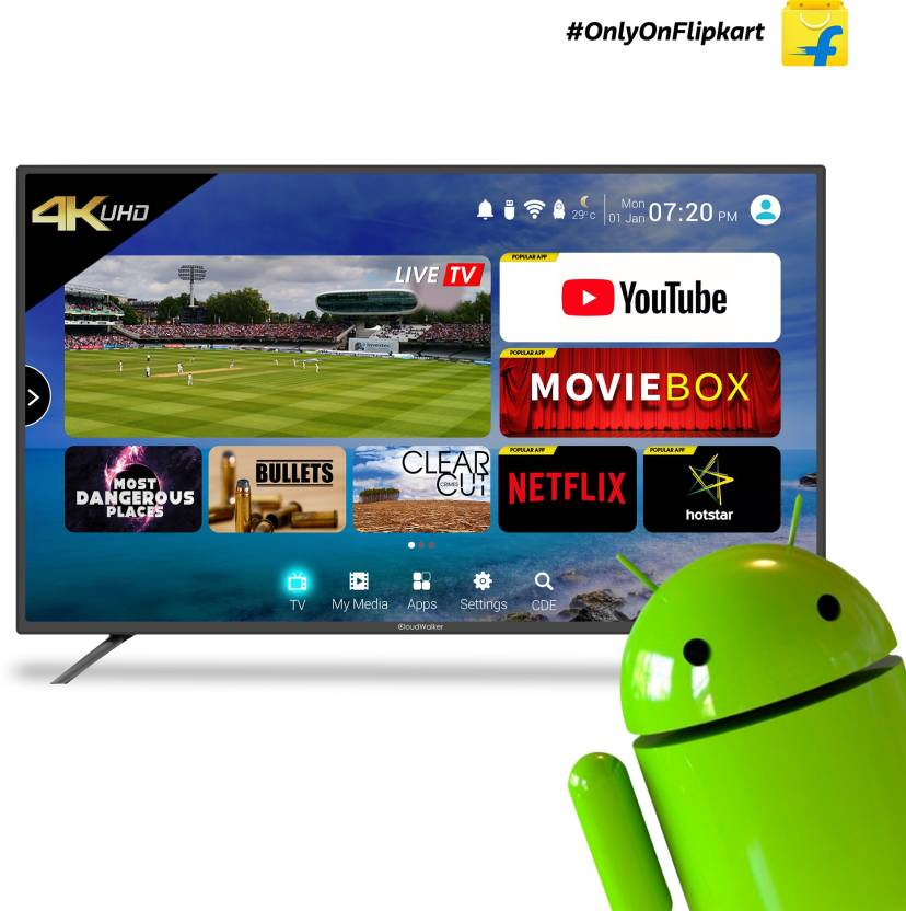 CloudWalker Cloud TV 127cm (50 inch) Ultra HD (4K) LED Smart TV