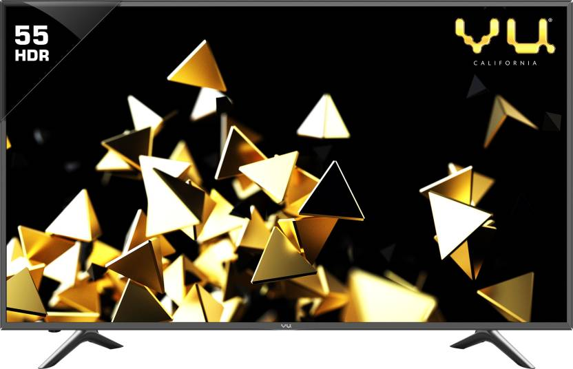 Best Smart TV's Under 50000Rs Vu 140cm (55 inch) Ultra HD (4K) LED Smart TV