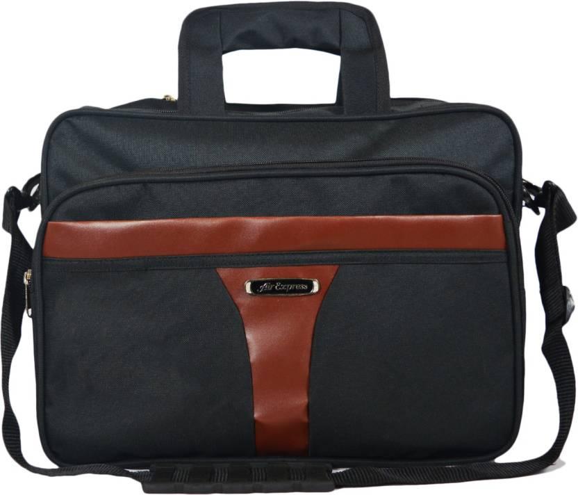 90c39ead7 QT Sizzling Black Laptop Messanger bag for Men & Women Messenger Bag  (Black, 20 L)