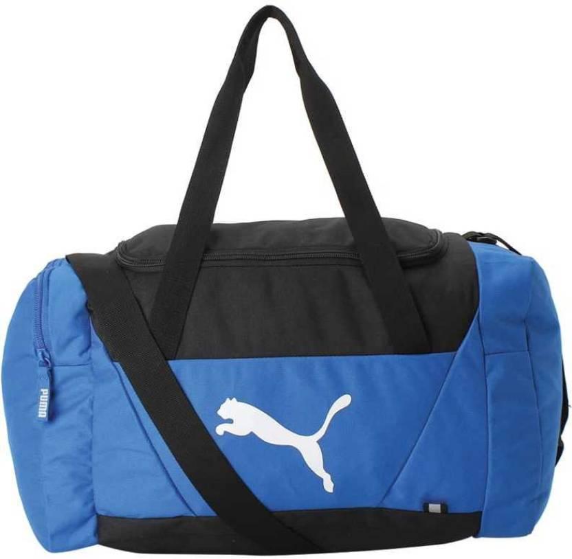 693284f43940 Puma Fundamentals Sports Bag S Travel Duffel Bag Turkish Sea - Price ...